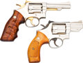 Handguns:Double Action Revolver, Lot of Two Smith & Wesson Double Action Revolvers.... (Total: 2 Items)