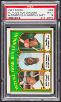 Baseball Cards:Singles (1970-Now), 1972 Topps NL HR Leaders #89 PSA Mint 9 - Only Four Higher. ...