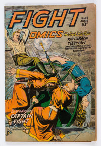 Fight Comics #44 (Fiction House, 1946) Condition: VG/FN