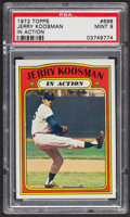 Baseball Cards:Singles (1970-Now), 1972 Topps Jerry Koosman In Action #698 PSA Mint 9 - Only Two Higher. ...