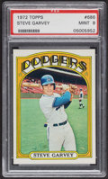 Baseball Cards:Singles (1970-Now), 1972 Topps Steve Garvey #686 PSA Mint 9....