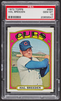 Baseball Cards:Singles (1970-Now), 1972 Topps Hal Breeden #684 PSA Gem MT 10. ...