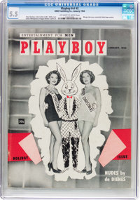 Playboy #2 (HMH Publishing, 1954) CGC FN- 5.5 Off-white to white pages