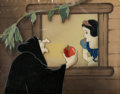 Animation Art:Production Cel, Snow White and the Seven Dwarfs Old Hag Production CelCourvoisier Setup (Walt Disney, 1937)....