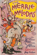 Animation Art:Poster, Merrie Melodies Stock Theatrical Poster (Warner Brothers, 1933). ...