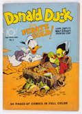 Golden Age (1938-1955):Cartoon Character, Four Color #9 Donald Duck (Dell, 1942) Condition: VG+....