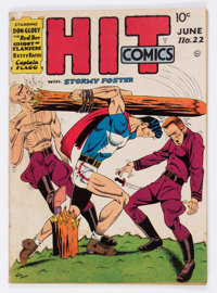 Hit Comics #22 (Quality, 1942) Condition: FN