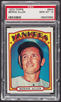 Baseball Cards:Singles (1970-Now), 1972 Topps Bernie Allen #644 PSA Gem MT 10. ...