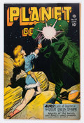 Golden Age (1938-1955):Science Fiction, Planet Comics #47 (Fiction House, 1947) Condition: FN/VF....