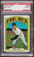 Baseball Cards:Singles (1970-Now), 1972 Topps Bill Lee #636 PSA Mint 9 - Only Three Higher. ...
