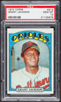 Baseball Cards:Singles (1970-Now), 1972 Topps Grant Jackson #212 PSA Gem MT 10....