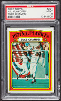 Baseball Cards:Singles (1970-Now), 1972 Topps N. L. Playoffs #221 PSA Mint 9. ...