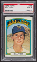 Baseball Cards:Singles (1970-Now), 1972 Topps Bill Voss #776 PSA Mint 9 - Only One Higher. ...