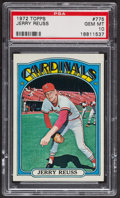 Baseball Cards:Singles (1970-Now), 1972 Topps Jerry Reuss #775 PSA Gem MT 10. ...