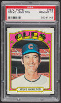 Baseball Cards:Singles (1970-Now), 1972 Topps Steve Hamilton #766 PSA Gem MT 10 - Pop Three. ...