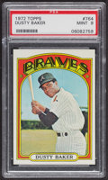 Baseball Cards:Singles (1970-Now), 1972 Topps Dusty Baker #764 PSA Mint 9 - Only Two Higher. ...
