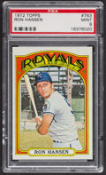 Baseball Cards:Singles (1970-Now), 1972 Topps Ron Hansen #763 PSA Mint 9 - None Higher. ...
