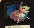 Animation Art:Concept Art, Alice in Wonderland Pastel Concept Drawing by Ken Anderson (Walt Disney, 1951). ...