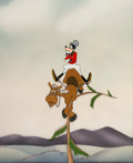 Animation Art:Production Cel, The Reluctant Dragon Goofy Production Cel Courvoisier Setup (Walt Disney, 1941). ...