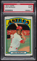 Baseball Cards:Singles (1970-Now), 1972 Topps Joe Morgan #132 PSA Mint 9 - Only One Higher. ...
