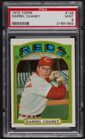 Baseball Cards:Singles (1970-Now), 1972 Topps Darrel Chaney #136 PSA Mint 9 - Only Four Higher....