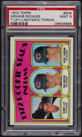 Baseball Cards:Singles (1970-Now), 1972 Topps Indians Rookies #506 PSA Mint 9 - Only Three Higher. ...
