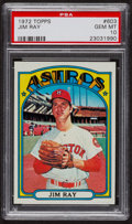 Baseball Cards:Singles (1970-Now), 1972 Topps Jim Ray #603 PSA Gem MT 10. ...