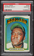 Baseball Cards:Singles (1970-Now), 1972 Topps George Scott #585 PSA Gem MT 10. ...