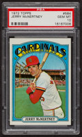 Baseball Cards:Singles (1970-Now), 1972 Topps Jerry McNertney #584 PSA Gem MT 10. ...