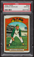 Baseball Cards:Singles (1970-Now), 1972 Topps Darold Knowles #583 PSA Gem MT 10 - Pop Two. ...