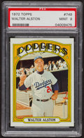 Baseball Cards:Singles (1970-Now), 1972 Topps Walter Alston #749 PSA Mint 9 - Only Three Higher. ...