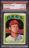 Baseball Cards:Singles (1970-Now), 1972 Topps Jack Billingham #542 PSA Gem MT 10. ...