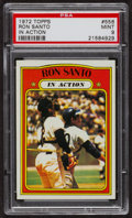 Baseball Cards:Singles (1970-Now), 1972 Topps Ron Santo In Action #556 PSA Mint 9 - Only Three Higher. ...