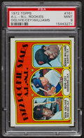 Baseball Cards:Singles (1970-Now), 1972 Topps Major League Rookies #761 PSA Mint 9. ...