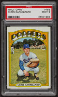 Baseball Cards:Singles (1970-Now), 1972 Topps Chris Cannizzaro #759 PSA Mint 9 - Only Four Higher. ...