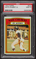 Baseball Cards:Singles (1970-Now), 1972 Topps Nate Colbert In Action #572 PSA Mint 9 - Only TwoHigher. ...