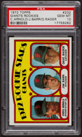 Baseball Cards:Singles (1970-Now), 1972 Topps Giants Rookies #232 PSA Gem MT 10. ...