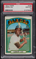 Baseball Cards:Singles (1970-Now), 1972 Topps Leron Lee #238 PSA Gem MT 10. ...