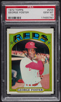 Baseball Cards:Singles (1970-Now), 1972 Topps George Foster #256 PSA Gem MT 10. ...
