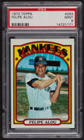 Baseball Cards:Singles (1970-Now), 1972 Topps Felipe Alou #263 PSA Mint 9 - None Higher. ...