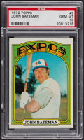 Baseball Cards:Singles (1970-Now), 1972 Topps John Bateman #5 PSA Gem MT 10. ...