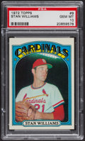 Baseball Cards:Singles (1970-Now), 1972 Topps Stan Williams #9 PSA Gem MT 10 - Pop Three. ...