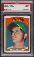 Baseball Cards:Singles (1970-Now), 1972 Topps Brant Alyea #383 PSA Mint 9 - Only Three Higher. ...