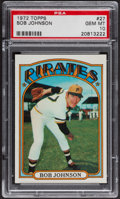Baseball Cards:Singles (1970-Now), 1972 Topps Bob Johnson #27 PSA Gem MT 10. ...