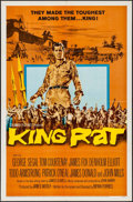 "Movie Posters:War, King Rat (Columbia, 1965). One Sheets (2) (27"" X 41"") Style A &B & Lobby Card Set of 8 (1"" x 14""). War.. ... (Total: 10 Items)"