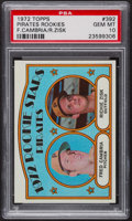 Baseball Cards:Singles (1970-Now), 1972 Topps Pirate Rookies #392 PSA Gem MT 10. ...