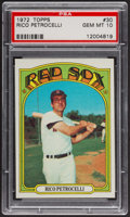 Baseball Cards:Singles (1970-Now), 1972 Topps Rico Petrocelli #30 PSA Gem MT 10. ...
