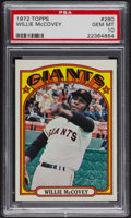 Baseball Cards:Singles (1970-Now), 1972 Topps Willie McCovey #280 PSA Gem MT 10. ...