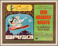 "Movie Posters:Animation, 1001 Arabian Nights (Columbia, 1959). Half Sheet (22"" X 28"") StyleB. Animation.. ..."