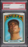 Baseball Cards:Singles (1970-Now), 1972 Topps Ken Berry #379 PSA Gem MT 10. ...